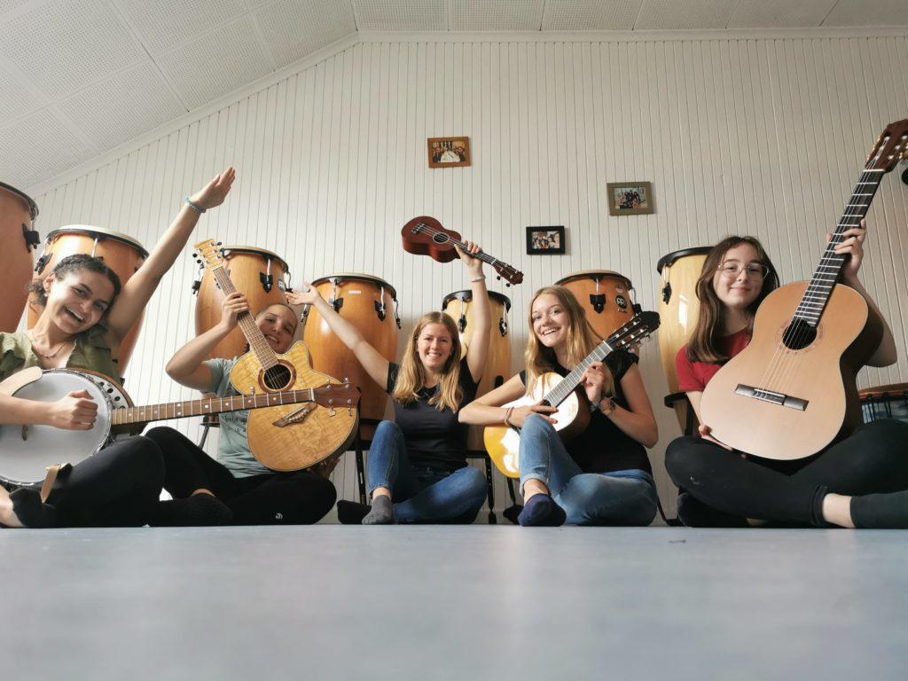 Gitarre, klingt klasse!